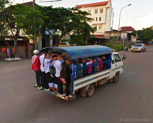 Lao School Bus