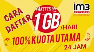 Indosat merupakan salah satu provider internet terbaik di Indonesia hingga saat ini Cara Daftar Paket Yellow M3 Dengan Mudah