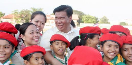 Senator Franklin Drilon tops latest SWS survey for senatorial positions.