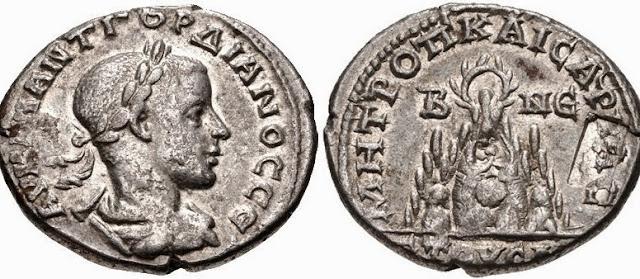 Moneda hispanorromana y ejecucion en la antigua Roma