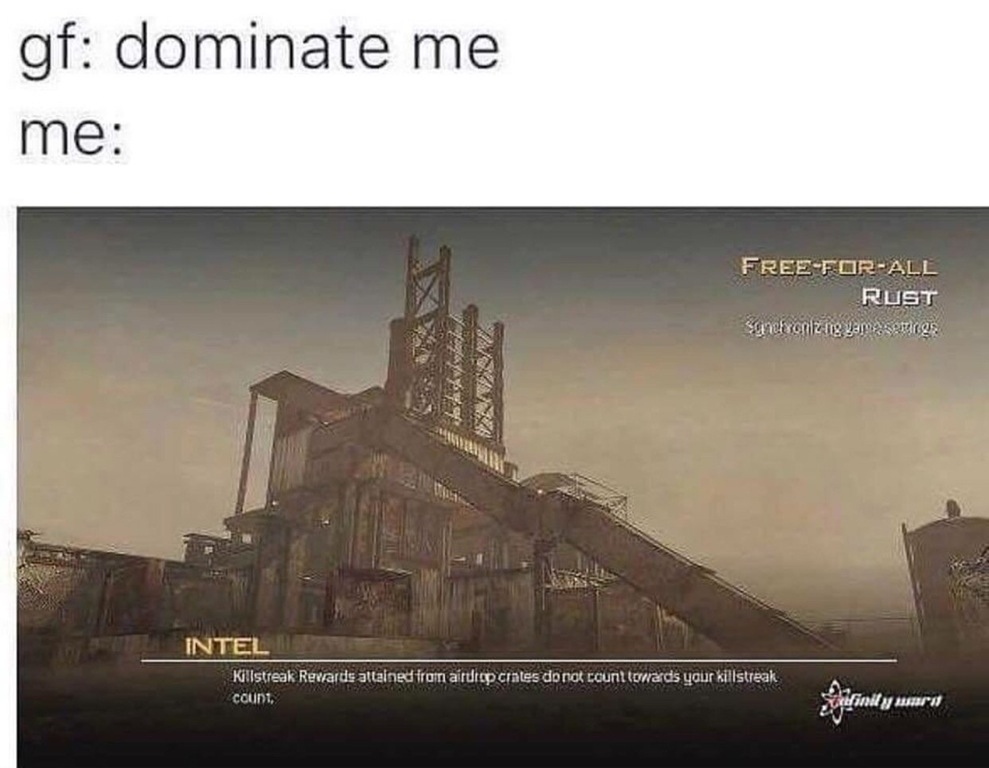 GF: Dominate me Rust MW2