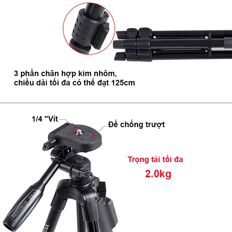 Yunteng VCT-5208RM