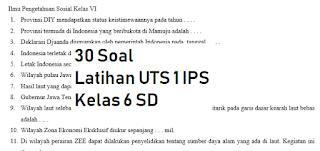 30-soal-latihan-uts-1-ips-kelas-6-sd