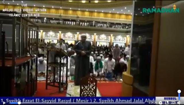 [LIVE] Sholat Tarawih 1 Ramadhan 1439 H Masjid Raya Hubbul Wathan Islamic Center NTB