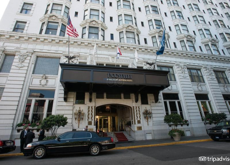 10 Of The Most Beautiful Hotels In America That Deserve A Spot On Your Travel Bucket List - The Roosevelt, a Waldorf Astoria Hotel, New Orleans