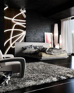 dormitorio decorado hombre soltero