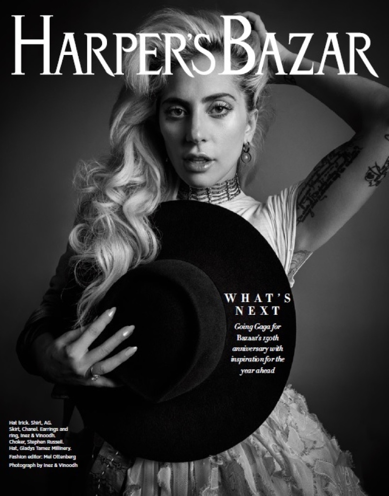 Lady Gaga stars on Harper's Bazaar's 150th Anniversary issue