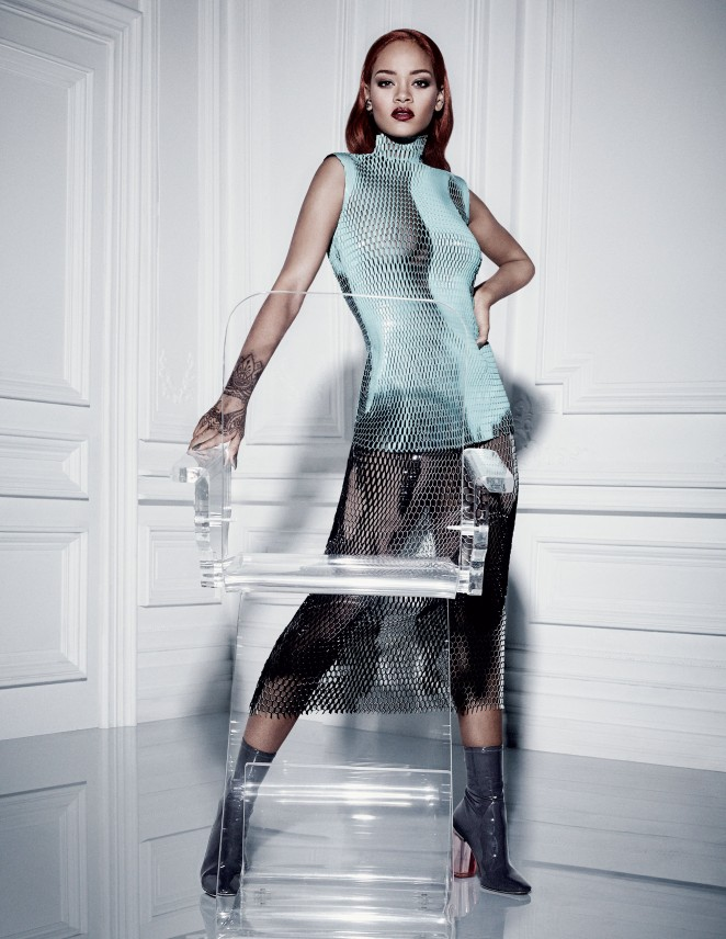 Rihanna by Craig McDean for Dior Magazine Fall 2015