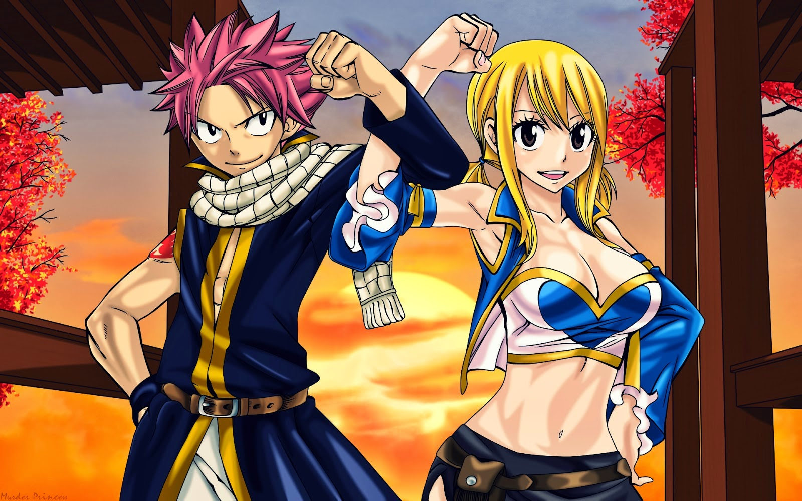 Giang sinh hinh fairy tail jpg 1600x1000 Giang sinh hinh fairy tail