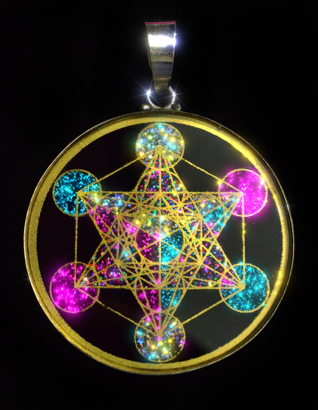 Sacred geometry pendants pendant store for Metatron s cube jewelry