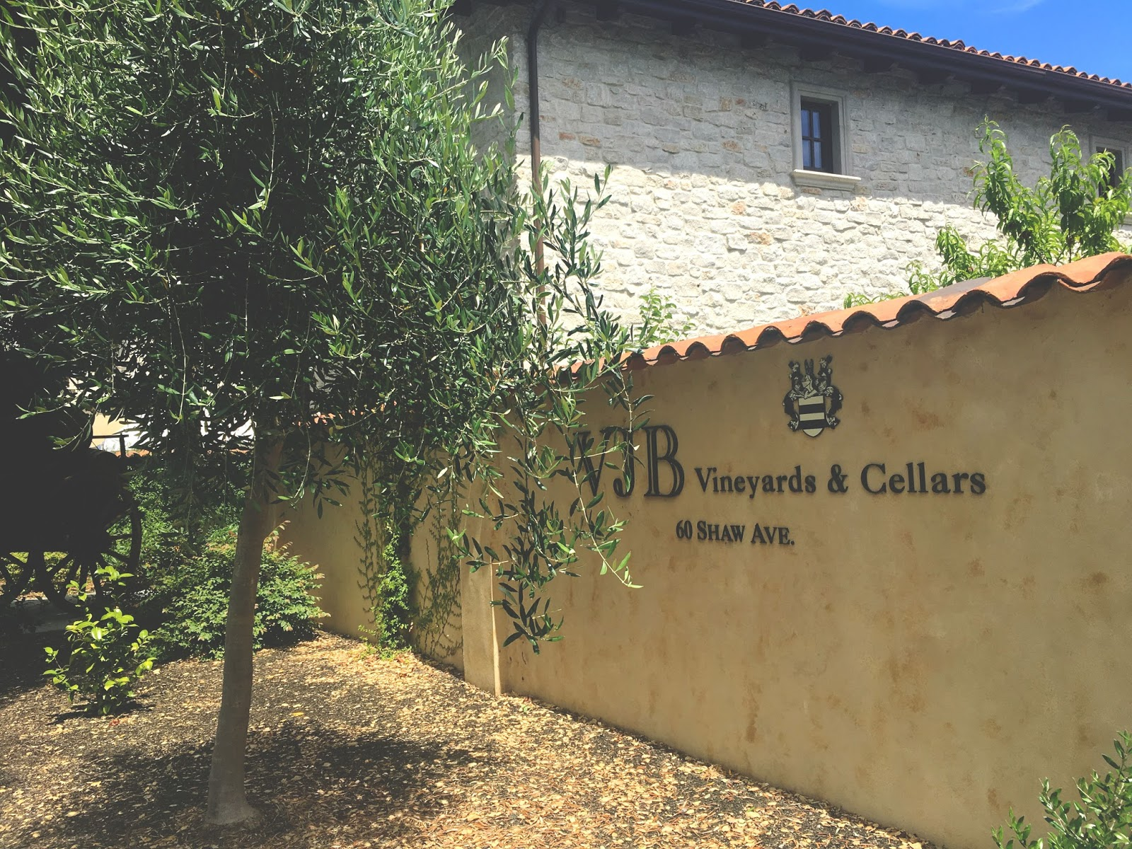VJB - a winery in Sonoma, California