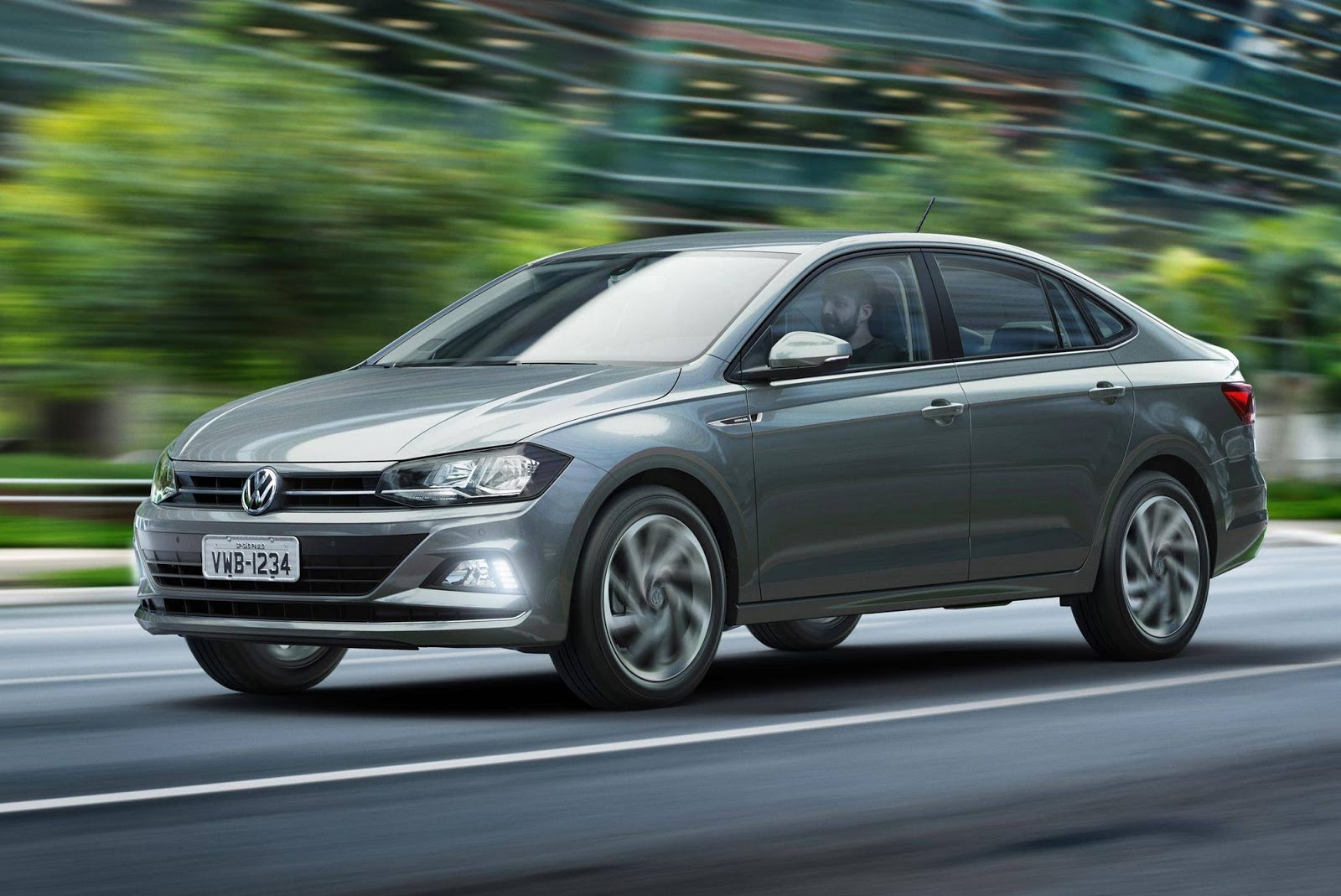 Brand New Vw Polo 2018 Vw Virtus Is A Polo Sedan For South America Carscoops