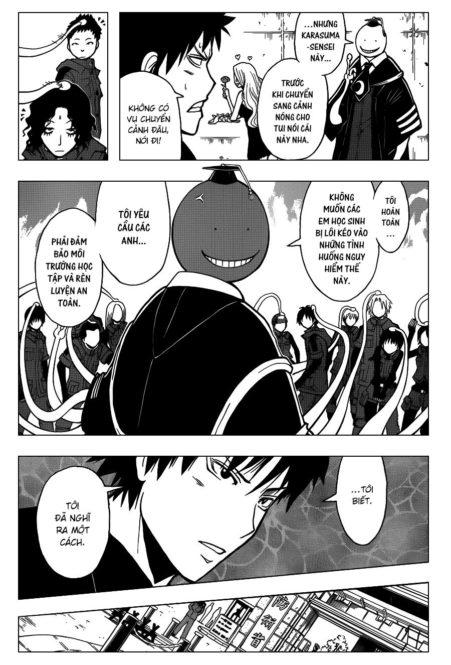 Ansatsu Kyoushitsu chap 110 trang 12