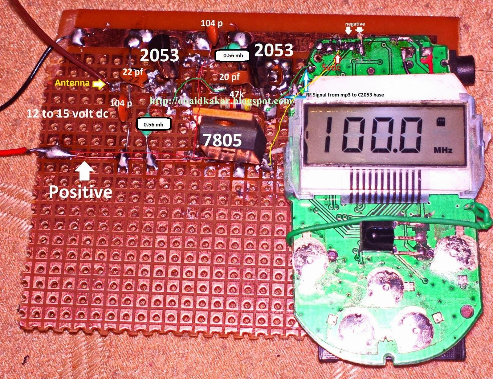 Stable Fm Transmitter Circuit Diagram Ksf Electronics 6 Watts Rf Field Strength Meter Also Available Below Up To 3 Different I Have Tested Photo Added