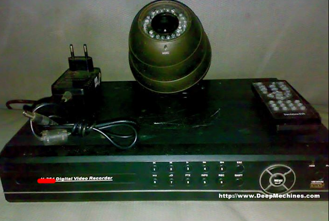 Bentuk Digital Video Recorder (DVR) - Kamera CCTV