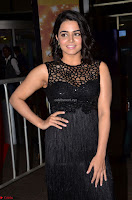 Wamiqa Gabbi in a sleeveless Black Designer Transparent Gown at 64th Jio Filmfare Awards South ~  Exclusive 005.JPG