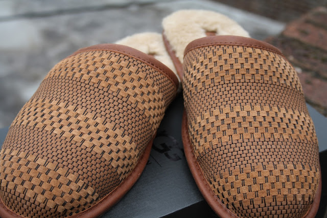 Men's Scuff Weave Ugg Slippers