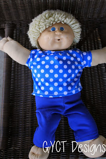 "17"" cabbage patch with free clothing pattern"