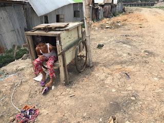 The Korail Basti Slum  is very real