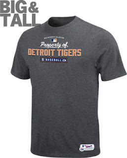 Big and Tall Detroit Tigers Property of T-Shirt