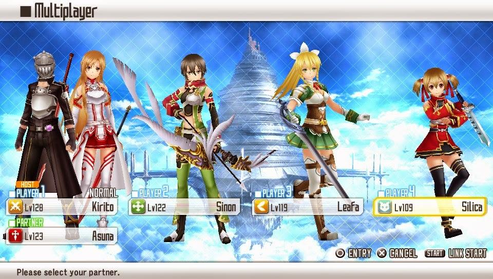 Chcse S Blog Sword Art Online Hollow Fragment Vita