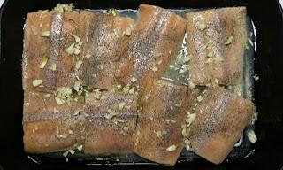 baked salmon & artichoke