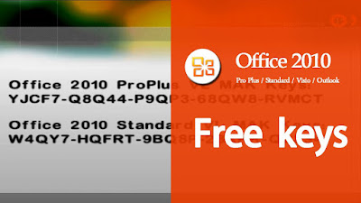 product key for microsoft office 2010