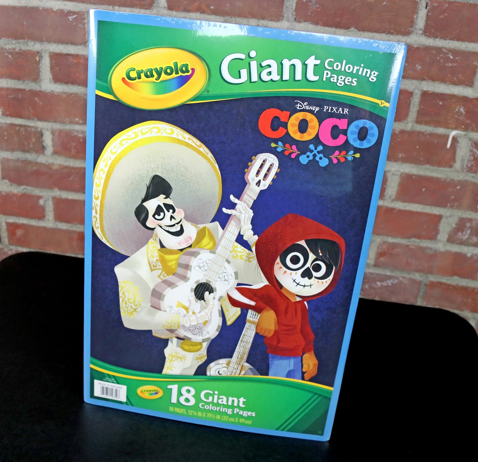 coco crayola giant coloring book - Giant Coloring Book