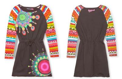 vestido para niña de Desigual