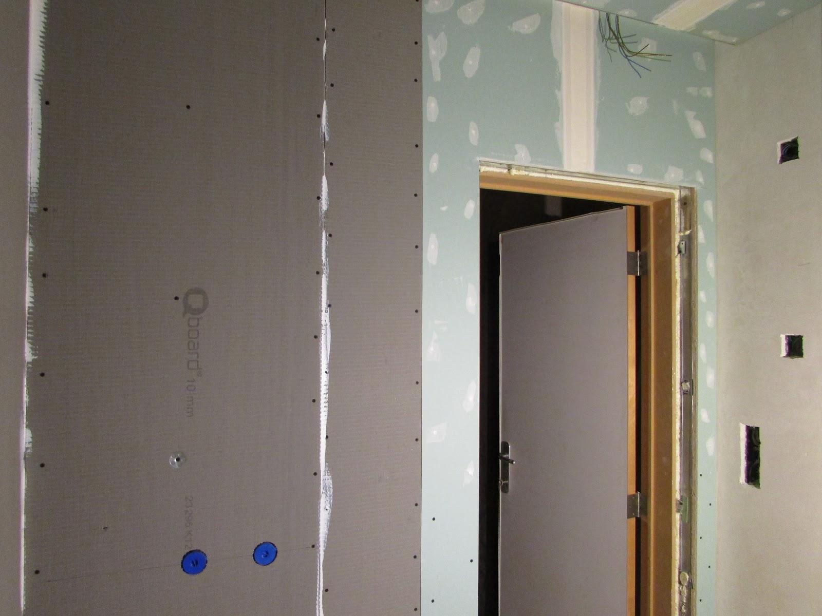 verbouwing van ons ouderlijk huis: muren badkamer