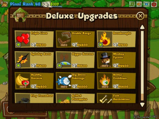 Defense tower defense unblocked balloon tower defense click for