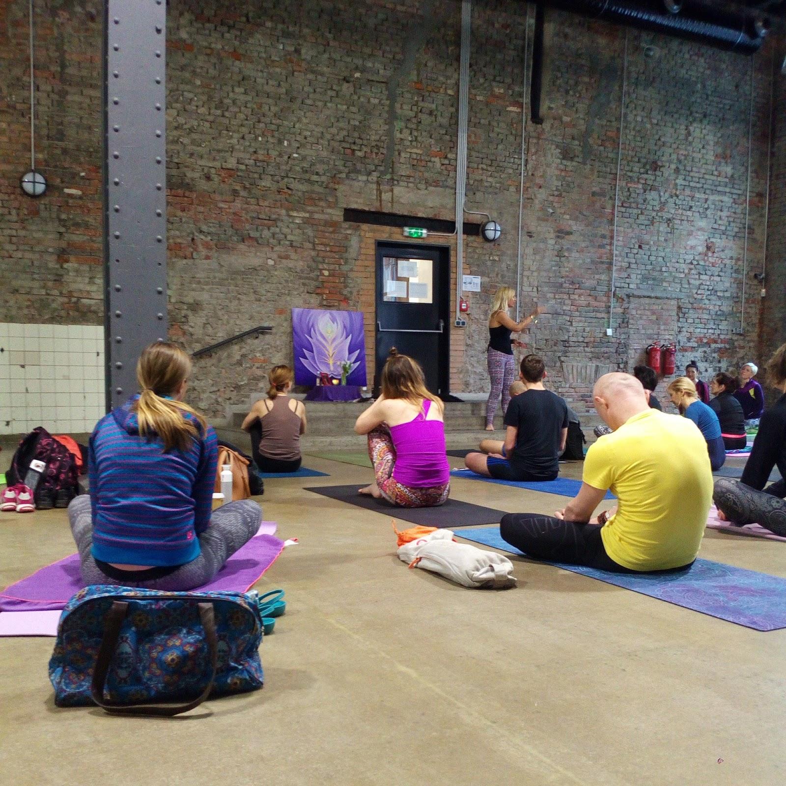 meditace na jógovém festivalu Yoga Dance Ostrava