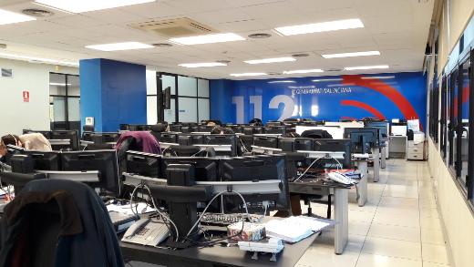 Los turnos de personal del teléfono de Emergencias 112 Comunitat Valenciana se refuerzan un 15% en Nochebuena y un 6% el día de Navidad