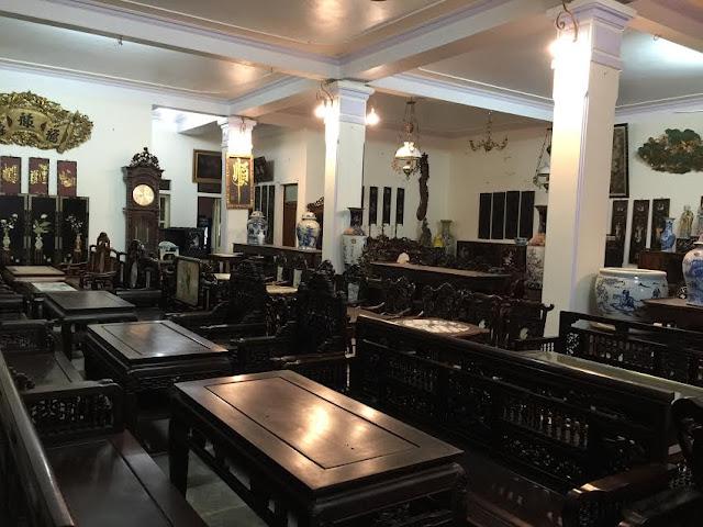 Cửa hàng đồ gỗ mỹ nghệ Đỗ Tĩnh - Làng nghề 1 Hải Minh - Nam Định