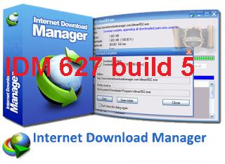 تفعيل  برنامج أنترنت دونالد منجر IDM 627 build 5 بواسطة Crack وبدون مشاكل