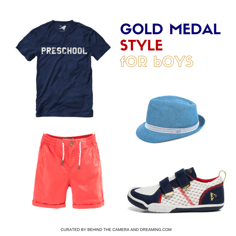 PRESCHOOL BOYS OLYMPIC LOOK