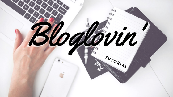 Bloglovin' tutorial for SimpleSiters
