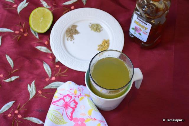 Coriander-Cumin-Fennel Tea