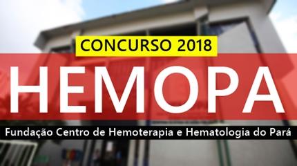 Concurso HEMOPA-PA 2018