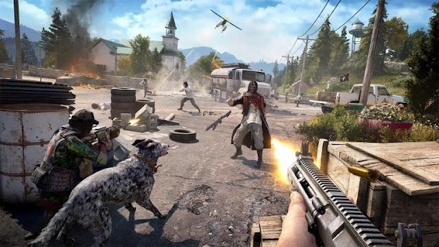 لعبة Far Cry 5 تحقق إنجاز رائع في المبيعات البريطانية لنتعرف عليه …