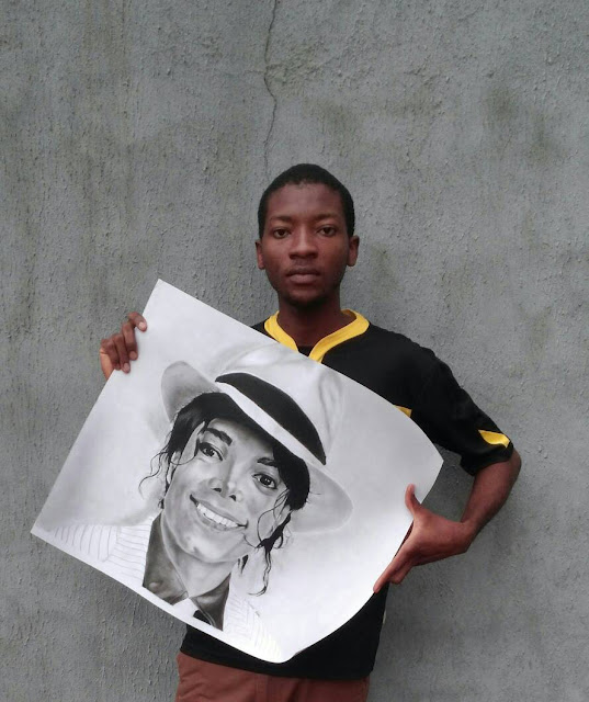michael jackson by c.z.azuakor art gallery for lexhansplace