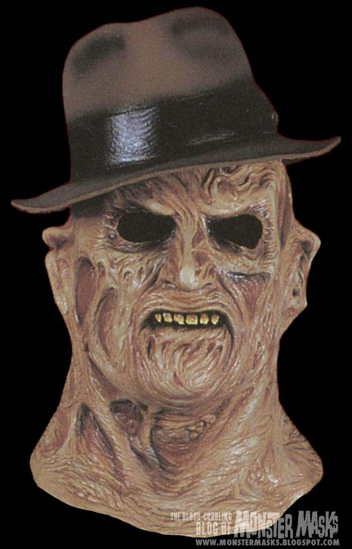 Cinema Secrets Freddy Mask And Wall Mount Blood Curdling