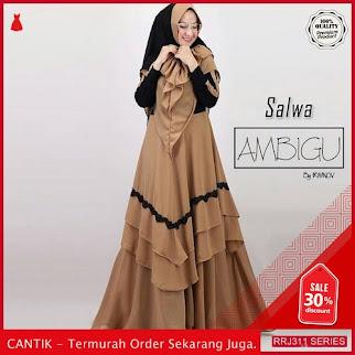 Jual RRJ311D104 Dress Salwa Syari Wanita Mc Terbaru Trendy BMGShop