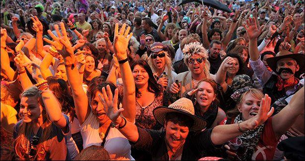 Music festival in Scotland dance music