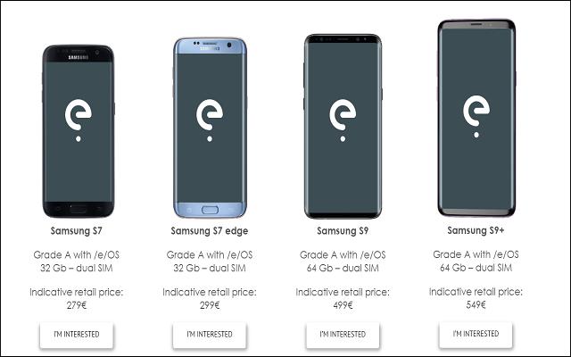 تبيع هذه الشركة التي تحدت غوغل هواتف سامسونغ غالاكسي بدون تطبيقات غوغل وبثمن رخيص