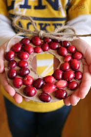 Cranberry Thanksgiving Five In a Row Activities