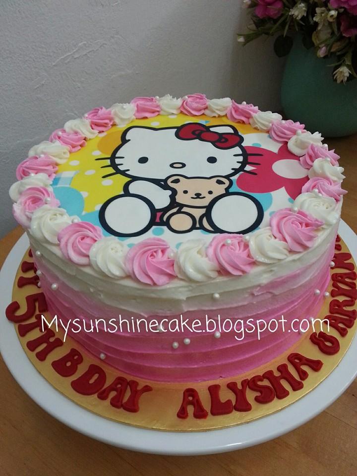 Mysunshine Cake