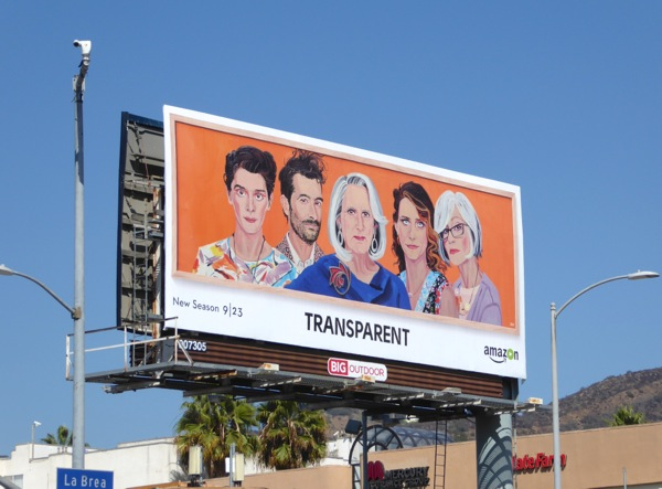 Transparent season 3 Amazon billboard