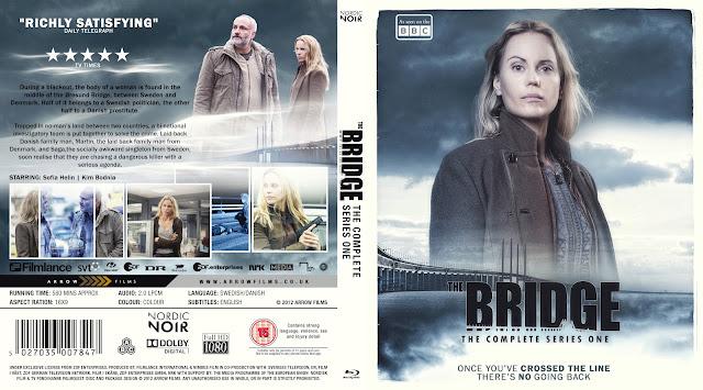 The Bridge Season1  Bluray Cover