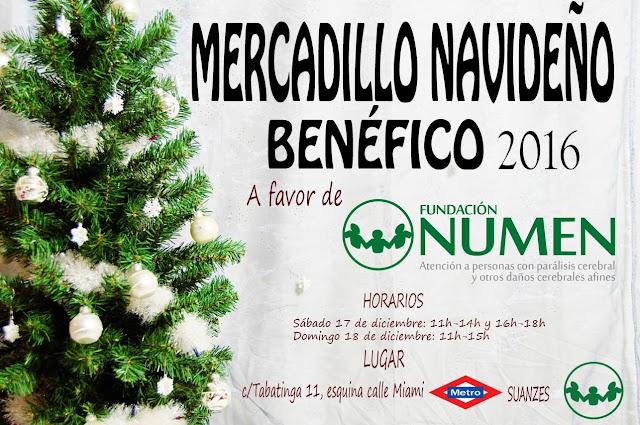 Mercadillo Navideño Benefico 2016 Fundacion Numen